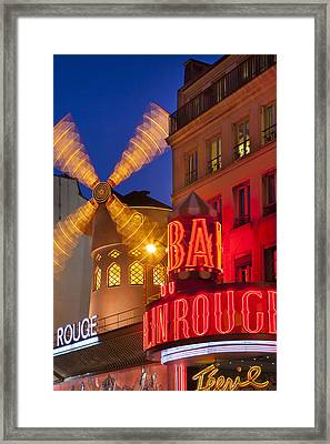 Moulin Rouge Framed Print by Brian Jannsen