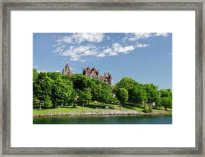 New York, St Lawrence Seaway, Thousand Framed Print by Cindy Miller Hopkins