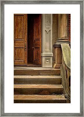 Open Door Framed Print by Jill Battaglia