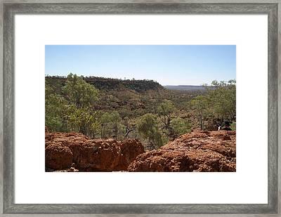 Plenty Highway Framed Print by Carol Ailles