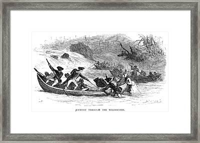 Quebec Expedition, 1775 Framed Print by Granger