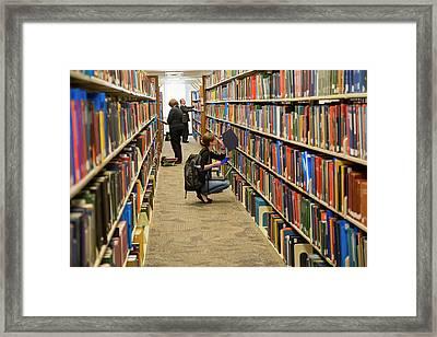 Salt Lake City Genealogical Research Framed Print by Jim West