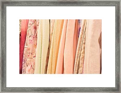 Scarves Framed Print by Tom Gowanlock