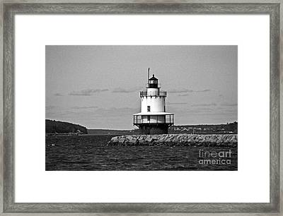 Spring Point Ledge Lighthouse Framed Print by Skip Willits