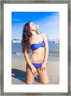 Summer Holiday Framed Print by Jorgo Photography - Wall Art Gallery