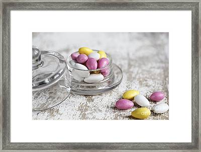 Sweet Candy Framed Print by Nailia Schwarz