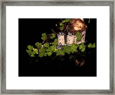 Marriage Proposal Framed Print featuring the photograph Szene by Heike Hultsch