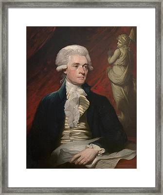 Thomas Jefferson Framed Print by War Is Hell Store