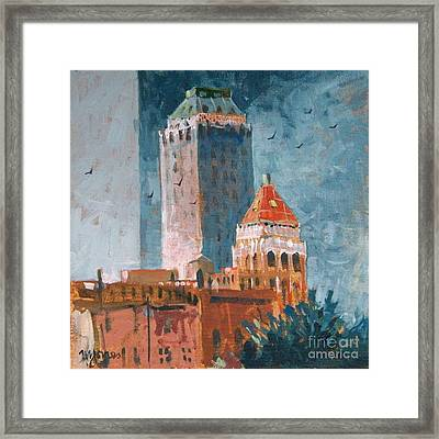 Tulsa  Framed Print by Micheal Jones