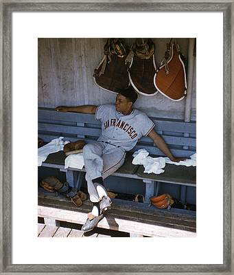 Willie Mays Framed Print by Retro Images Archive