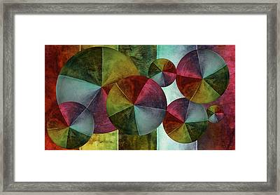 5 Wind Worlds Framed Print by Angelina Vick