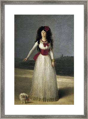 Goya Y Lucientes, Francisco De Framed Print by Everett