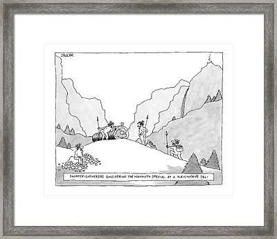Untitled Framed Print by Jack Ziegler