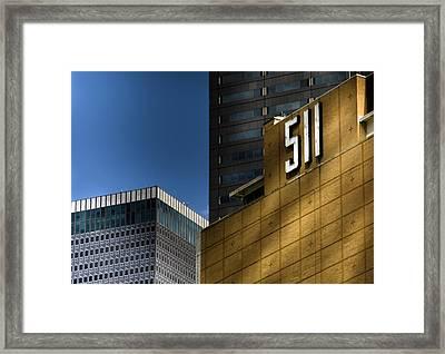 511 Framed Print by Darryl Dalton