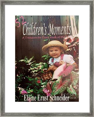 52 Children's Moments - Book Cover Framed Print by Eloise Schneider