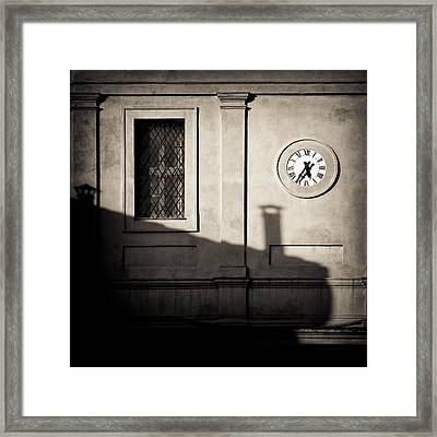 5.35pm Framed Print by Dave Bowman