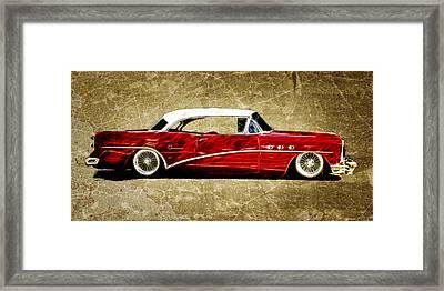 54 Buick Special Framed Print by Steve McKinzie