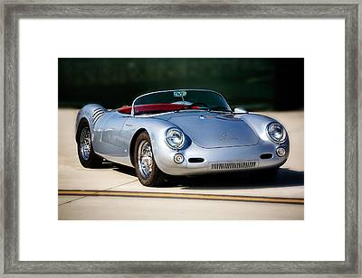 550 Spyder Framed Print by Peter Tellone