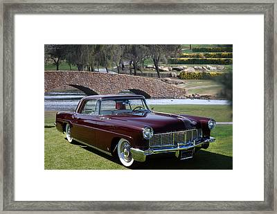 56 Continental Framed Print by Bill Dutting