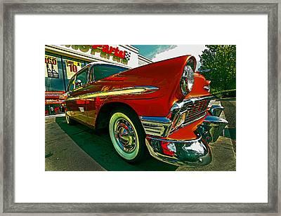 56 Dazzle Framed Print by Mike Flynn