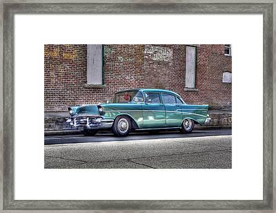 '57 Chevy Framed Print by Tony  Colvin