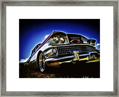 58 Buick Special Framed Print by motography aka Phil Clark