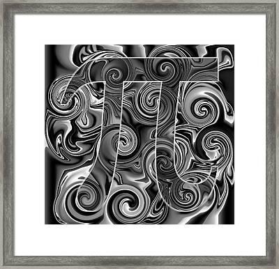 5Pi Framed Print by Ron Hedges
