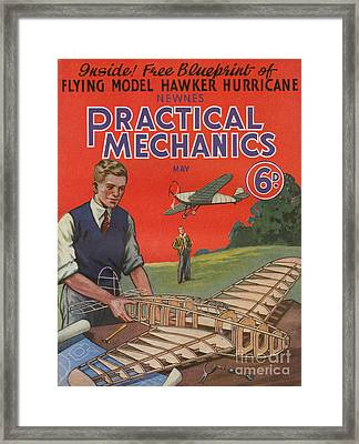 1930s Uk Practical Mechanics Magazine Framed Print by The Advertising Archives