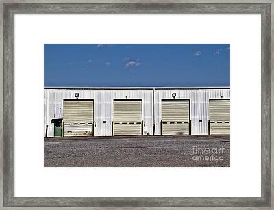 6 7 8 9 Warehouse  Framed Print by JW Hanley