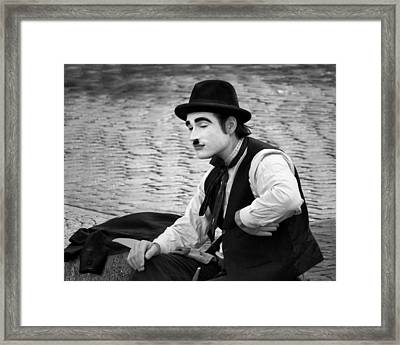 6 - Anything Else - French Mime Framed Print by Nikolyn McDonald
