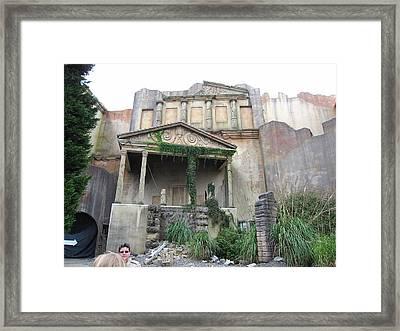 Busch Gardens - 12121 Framed Print by DC Photographer