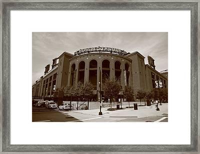 Busch Stadium - St. Louis Cardinals Framed Print by Frank Romeo