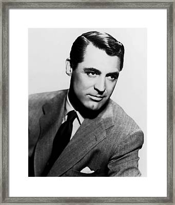 Cary Grant Framed Print by Silver Screen