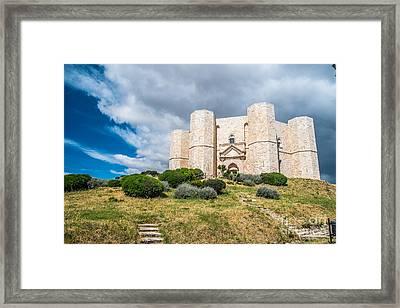 Castel Del Monte Framed Print by Sabino Parente