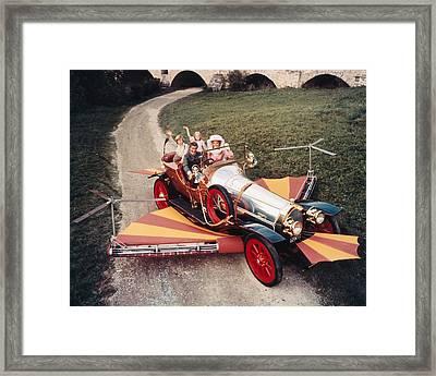 Chitty Chitty Bang Bang  Framed Print by Silver Screen