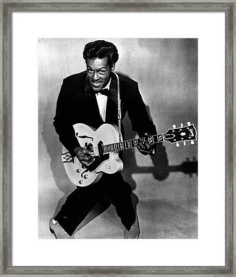 Chuck Berry Framed Print by Retro Images Archive