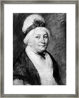 Dolley Madison (1768-1849) Framed Print by Granger