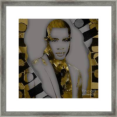 Empire's Trai Byers Andre Lyon Framed Print by Marvin Blaine