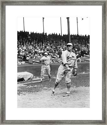 Francis R. Ray Blades Framed Print by Retro Images Archive