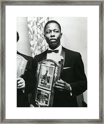 Hank Aaron Framed Print by Retro Images Archive