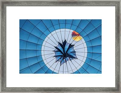 Hot Air Balloon Framed Print by Photostock-israel