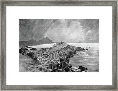 Ireland Giant's Causeway Framed Print by Granger