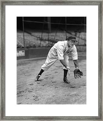 Joseph E. Joe Cronin Framed Print by Retro Images Archive