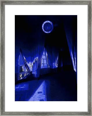 6 O'clock  Framed Print by Jack Zulli
