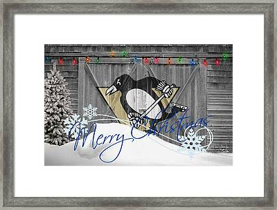 Pittsburgh Penguins Framed Print by Joe Hamilton