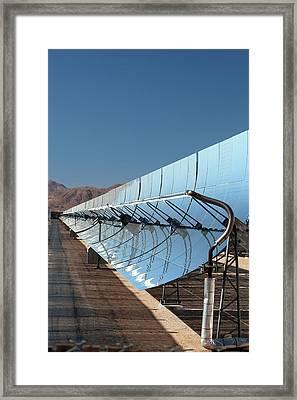 Solar Power Plant Framed Print by Jim West