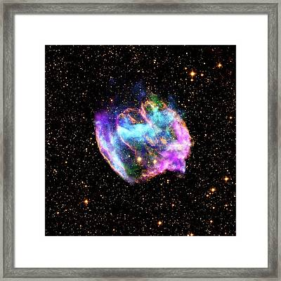 Supernova Remnant Framed Print by Nasa