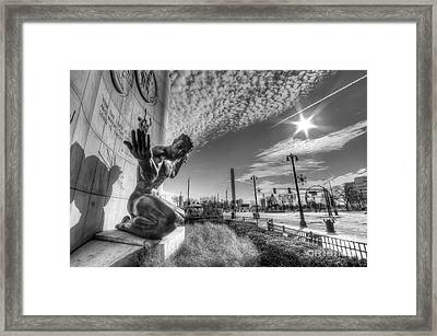 The Spirit Of Detroit Framed Print by Twenty Two North Photography