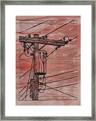 Transformer Framed Print by William Cauthern