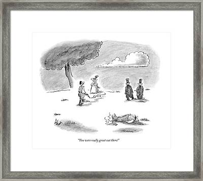 Untitled Framed Print by Frank Cotham